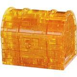 3D-Jigsaw Puzzles Hcm-Kinzel Crystal Puzzle Treasure Chest 52 Pieces