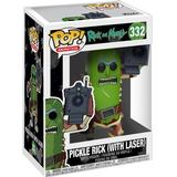 Figurines Funko Pop! Animation Rick & Morty Pickle Rick with Laser