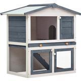 Pets vidaXL Outdoor Rabbit Hutch 3