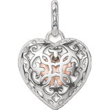Charms & Pendants Thomas Sabo Heart Locket Pendant - Rose Gold/Silver