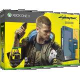 Xbox One Game Consoles Deals Microsoft Xbox One X 1TB - Cyberpunk 2077 Limited Edition Bundle