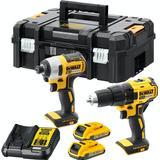 Screwdriver Dewalt DCK2059D2T Set
