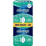 Menstrual Pads Always Ultra Normal with wings Size 1 26-pack