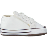 First Steps Children's Shoes Converse Infant Chuck Taylor All Star Cribster - White/ Natural Ivory/White