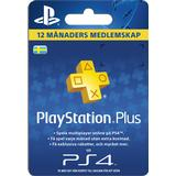 Redeem Cards Sony PlayStation Plus - 365 days - SE