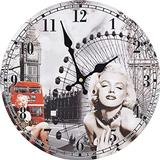 Wall Clocks vidaXL Marilyn Monroe 30cm Wall Clock