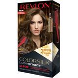 Permanent Hair Colour Revlon Colorsilk Buttercream Hair Color #60 Light Natural Brown