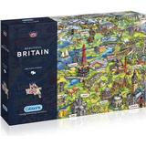 Gibsons Beautiful Britain 1000 Pieces