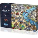 Classic Jigsaw Puzzles Gibsons London Landmarks 1000 Pieces