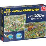 Jumbo Jan Van Haasteren Food Festival 2x1000 Pieces