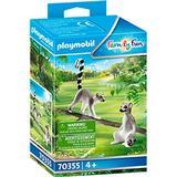 Figurines Playmobil Ring Tailed Lemurs 70355