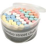 Sidewalk Chalk Jumbo Street Chalk 50pcs