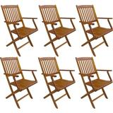 Outdoor Furniture vidaXL 276357 6-pack Garden Dining Chair