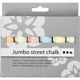 Sidewalk Chalk Jumbo Street Chalk 6pcs