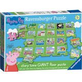 Floor Jigsaw Puzzles Ravensburger Peppa Pig Tell a Story Floor Puzzle 24 Pieces