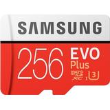Memory Cards Samsung Evo Plus 2020 microSDXC MC256HA Class 10 UHS-I U3 256GB