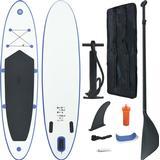 vidaXL Inflatable SUP Surfboard Set 300cm