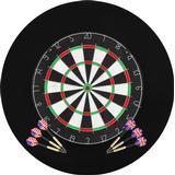 Outdoor Toys on sale vidaXL Professional Dart Board Sisal with 6 Arrows