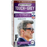 Semi-permanent Hair Colour Just For Men Touch of Grey T35 Medium Brown