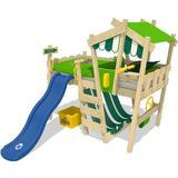 Wickey Loft Bed with Slide Wickey CrAzY Hutty