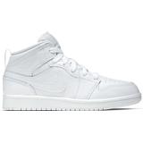 Air jordan 1 mid white Children's Shoes Nike Air Jordan 1 Mid PS - White