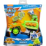 Spin Master Paw Patrol Mighty Pups Super Paws Rocky Deluxe Vehicle