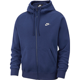 Men's Clothing Nike Club Fleece Hoodie Men - Midnight Navy/Midnight Navy/White