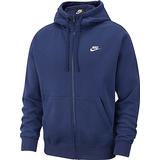 Nike Club Fleece Hoodie Men - Midnight Navy/Midnight Navy/White