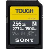 Memory Cards Sony Tough SDXC Class 10 UHS-II U3 V60 277/150MB/s 256GB