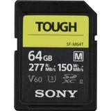 Sony flash Memory Cards & USB Flash Drives Sony SDXC Class 10 UHS-II U3 V60 277/150MB/s 64GB