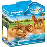 Figurines Playmobil Family Fun Tigers with Cub 70359