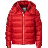 Down Jackets Men's Clothing Moncler Arves Down Jacket - Red