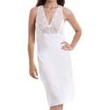 Nightgown Camille Classic Lace Chemise Full Slip - White