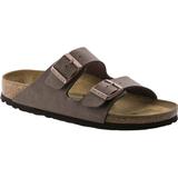 Slippers & Sandals on sale Birkenstock Arizona Birko-Flor Nubuck - Mocca