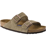 Birkenstock Arizona Soft Footbed Suede Leather - Taupe