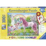 Ravensburger Coloring Booklet Magical Unicorns 100 Pieces