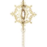 Christmas Decorations Georg Jensen Top Star Ice Flower 25.8cm Christmas tree ornament