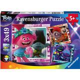 Floor Jigsaw Puzzles Ravensburger Trolls World Tour 3x49 Pieces