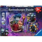 Floor Jigsaw Puzzles Ravensburger Disney Pixar Onward 3x49 Pieces