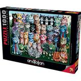 Classic Jigsaw Puzzles Anatolian Cat Family Reunion 1000 Pieces