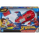 Action Play on sale Nerf Power Moves Marvel Spider Man Web Blast Web Shooter