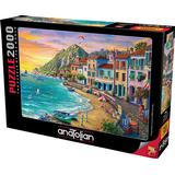 Classic Jigsaw Puzzles Anatolian Wonderful Beach 2000 Pieces