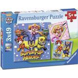 Classic Jigsaw Puzzles Ravensburger Paw Patrol Puzzle 3x49 Pieces