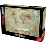 Anatolian World Map 2000 Pieces