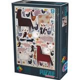 Classic Jigsaw Puzzles Dtoys Farm Animals 500 Pieces