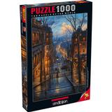 Classic Jigsaw Puzzles Anatolian Montmartre Spring 1000 Pieces