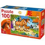 Classic Jigsaw Puzzles Dtoys Farm Animals 100 Pieces