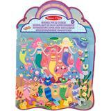Crafts Melissa & Doug Puffy Sticker Play Set Mermaid