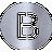 Radius Letter B Capital