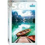 Classic Jigsaw Puzzles Step Puzzle Lake Prags in South Tyrol Italy 560 Pieces